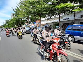 Hadirkan Kamtibmas Kondusif di Pilkada, Polres Pelabuhan Makassar Gencar Patroli