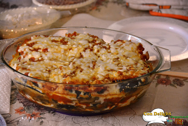 Baked eggplant parmesan פרמזן חצילים אפוי