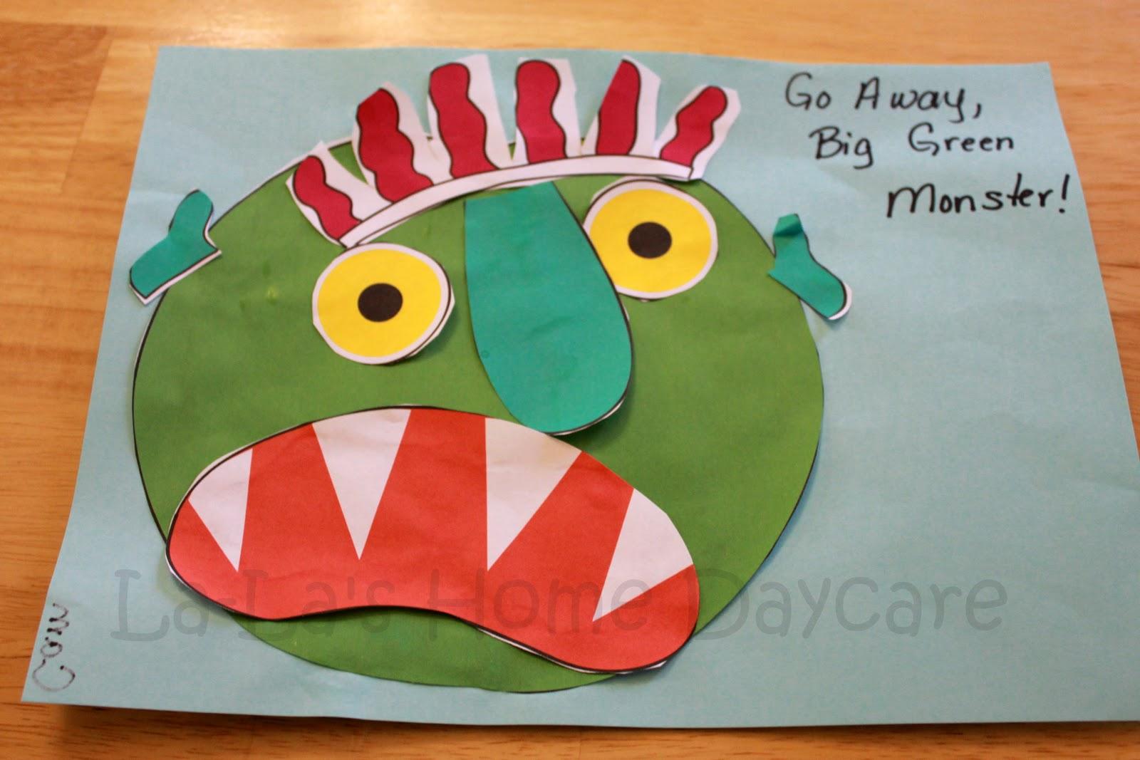 La La S Home Daycare Letter Gg Week