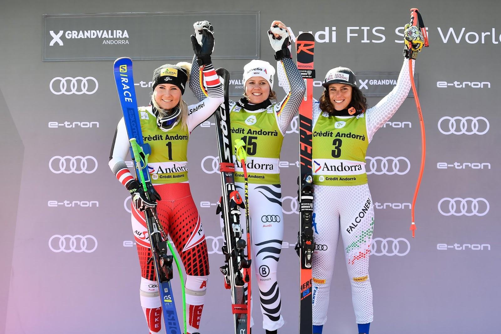 Ski Paradise Viktoria Rebensburg Wins Last Super G Of The Season Shiffrin Grabs The Crystal Globe