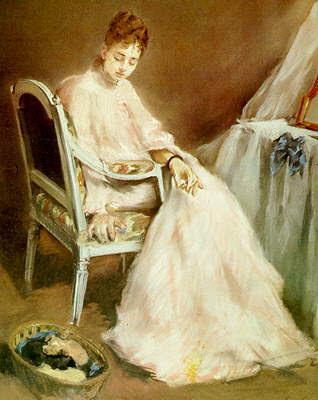 femeie-in-alb-eva-gonzales-1879