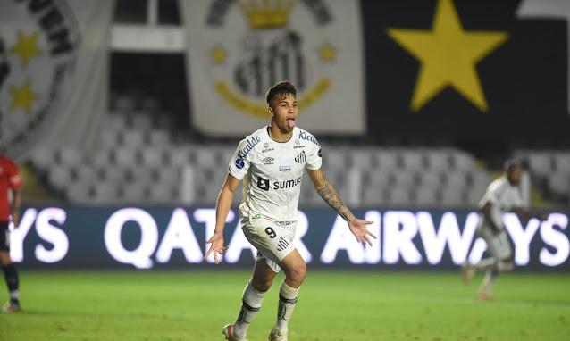 Santos bate Independiente e larga em vantagem na Sul-Americana