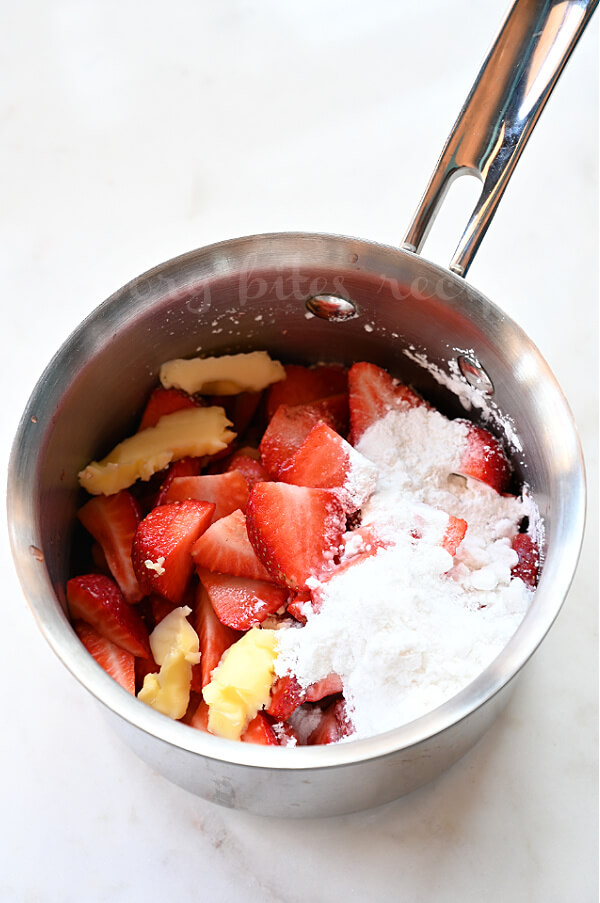 how to make the strawberry filling
