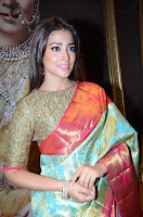 Shriya Saran Looks Stunning in Silk Saree at VRK Silk Showroom Launch Secundrabad ~  Exclusive 013.JPG