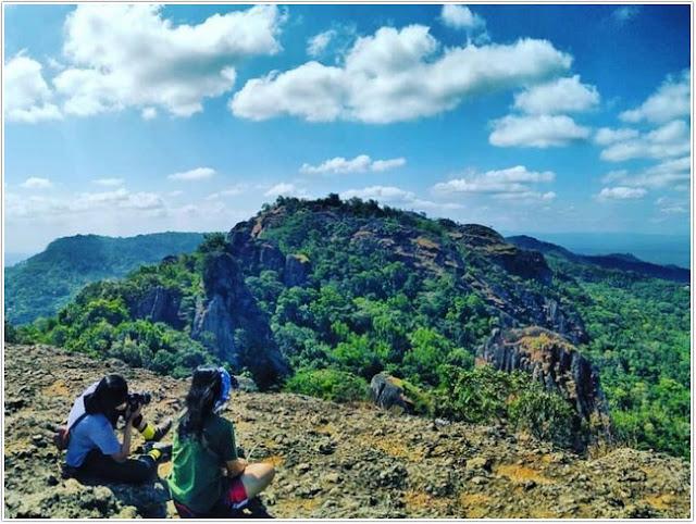 Gunung Api Purba Nglanggeran;10 Top Destinasi Wisata Gunung Kidul