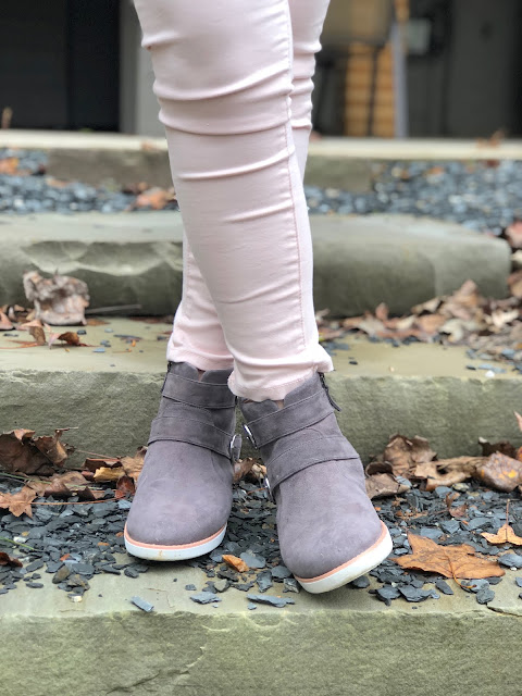 bdd7c0190227 The Oona Buckle Suede Ankle Boots have been one of our favorite Fall  purchases. They come in a variety of colors