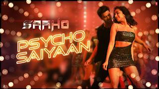 Psycho Saiyaan Lyrics - Saaho - Prabhas, Shraddha Kapoor