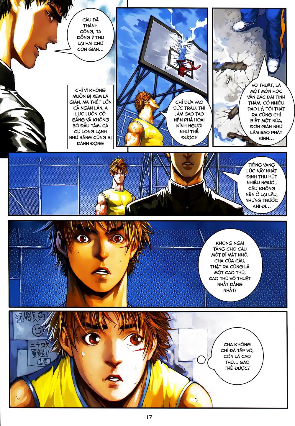 Quyền Đạo chapter 5 trang 17