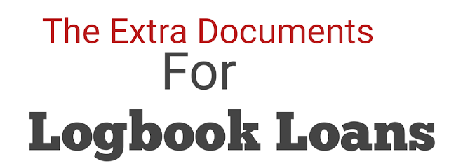 Documents for a logbook loan