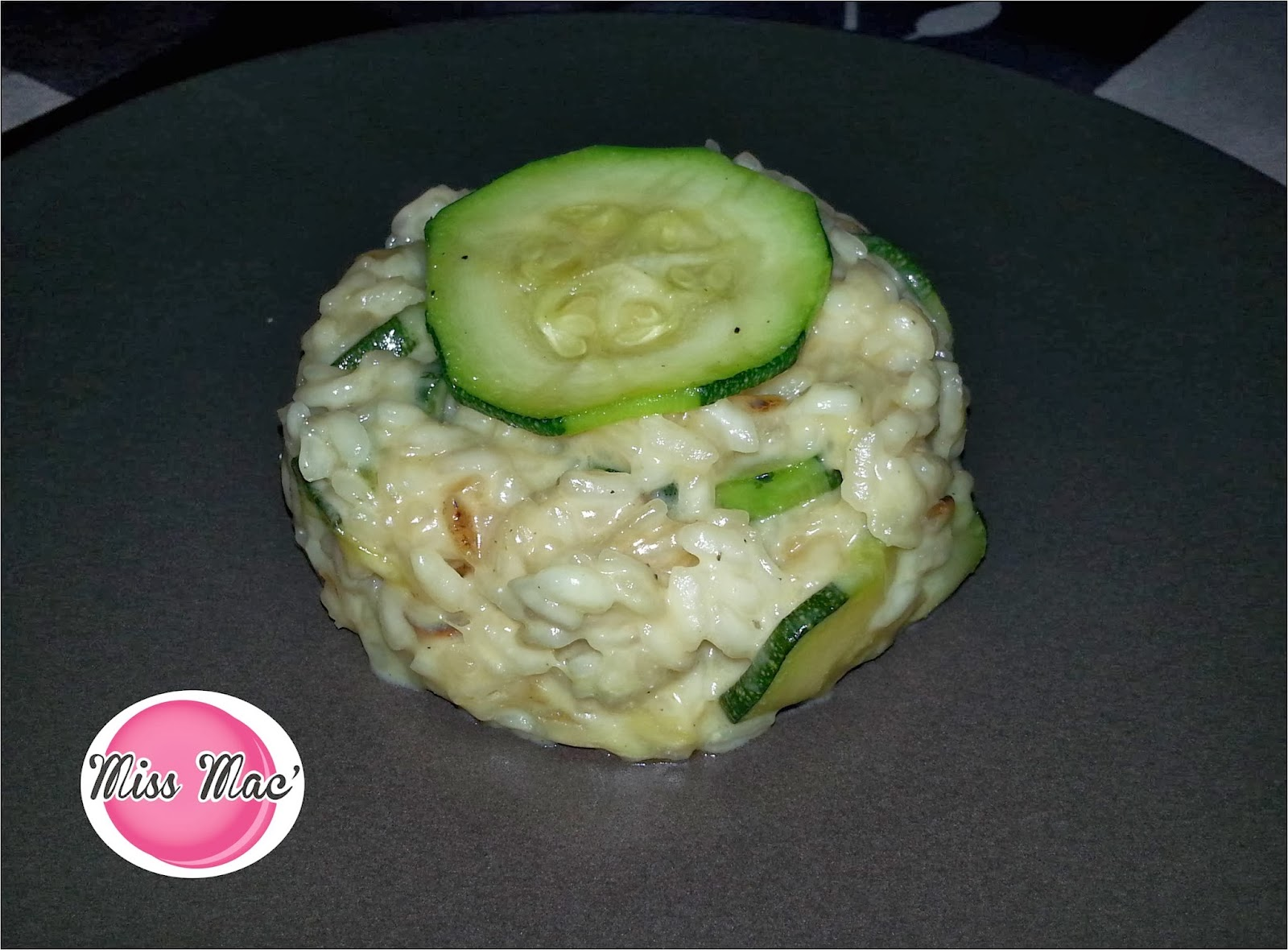 Macaron Cyril Lignac Miss Macarons And Ses Gourmandises Risotto Aux Courgettes