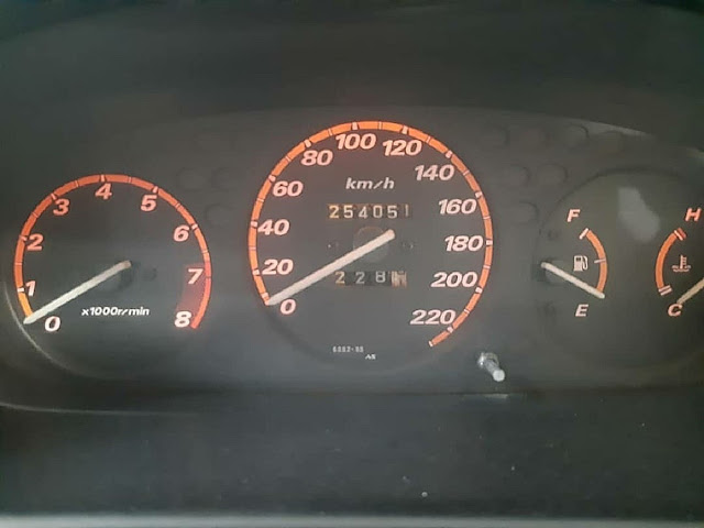 speedometer crv 2001 4wd