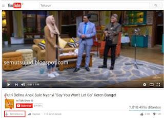 cara menambahkan video favorit ke akun youtube