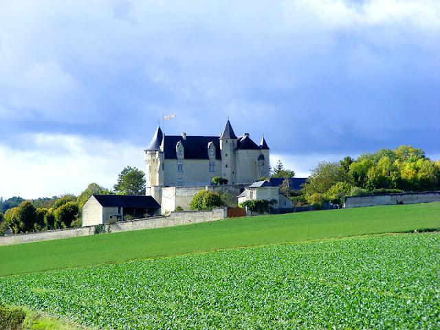 Chateau de la Motte-Usseau, Vienne, France. Photo by Loire Valley Time Travel.