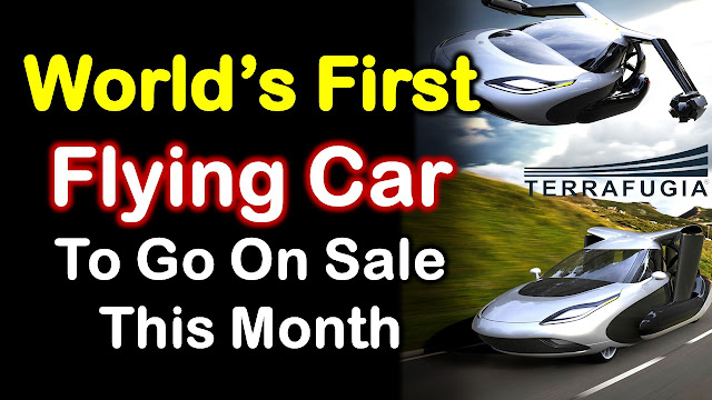Earth Logs, Terrafugia, World's First Flying Car, Flying Car, Sale, Technology, Flying, Air Car, Volvo, Engineering