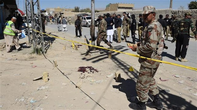 Militants killed three soldiers in Pakistan's Balochistan