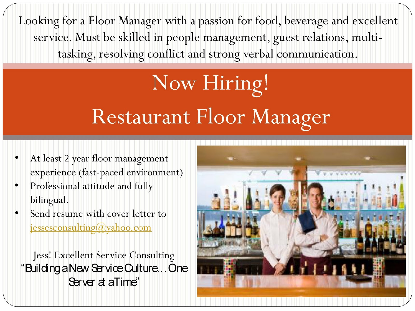 Professional Food Service Management