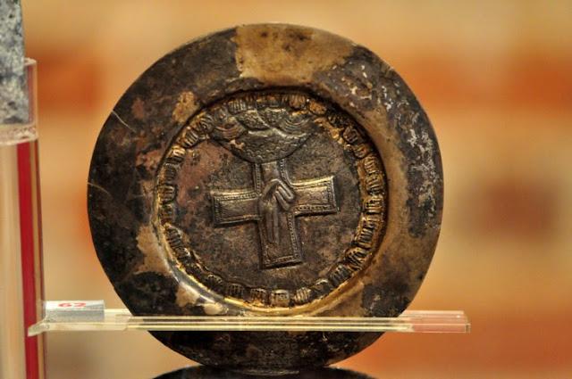 wczesnośredniowieczna patena z poznańskiego Ostrowa Tumskiego