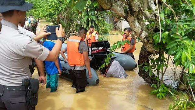 Banjir Terjang Kabupaten Aceh Barat