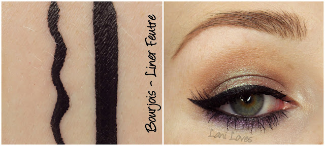 Bourjois Liner Feutre swatches & review