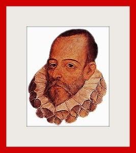 Retrato idealizado de Cervantes