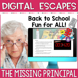 digital escape room - the missing principal