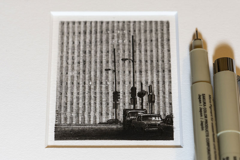 Small Drawings by Taylor Mazer
