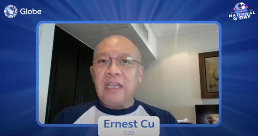 Globe National G Day Ernest Cu