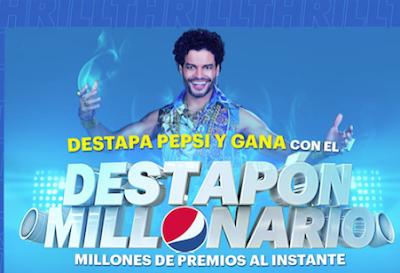Pepsi lanza la promoción Destapón Millonario
