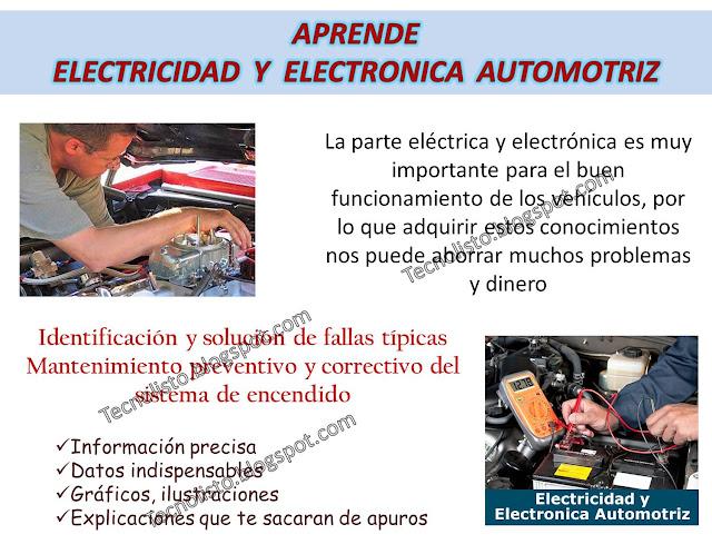 """""""Curso, Manual Electricidad y Electrónica Automotriz, Electroauto"""""""