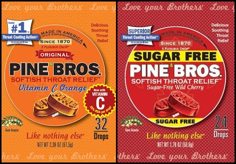 Pine Bros Softish Throat Drops in Two New Flavors!