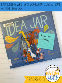 Need ideas for launching writer's workshop in elementary school? These ten mentor text suggestions are perfect for getting kids excited about writing! Each book includes the reason to read it: to help kids brainstorm ideas, to introduce the wriitng process, to get tips for narrative writing and more! Grade level suggestions help you choose the perfect book for your students!