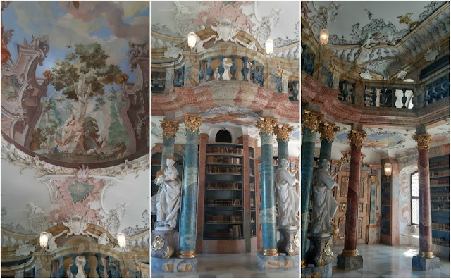 biblioteca da Abadia de Wiblingen (Ulm, Alemanha)
