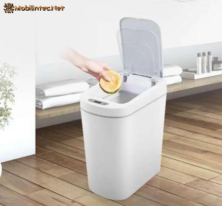 Ninestars Smart Sensor Touchless Waste Bin Trash Can