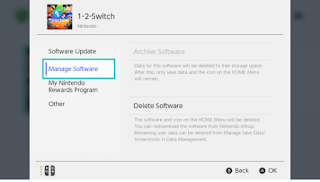 Steps To Archive Software On Nintendo Switch Account