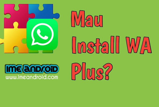 Cara install WhatsApp plus