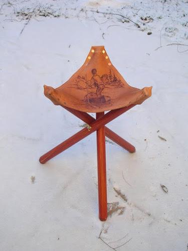 Homemade Folding Campstool Convertible Camera Tripod