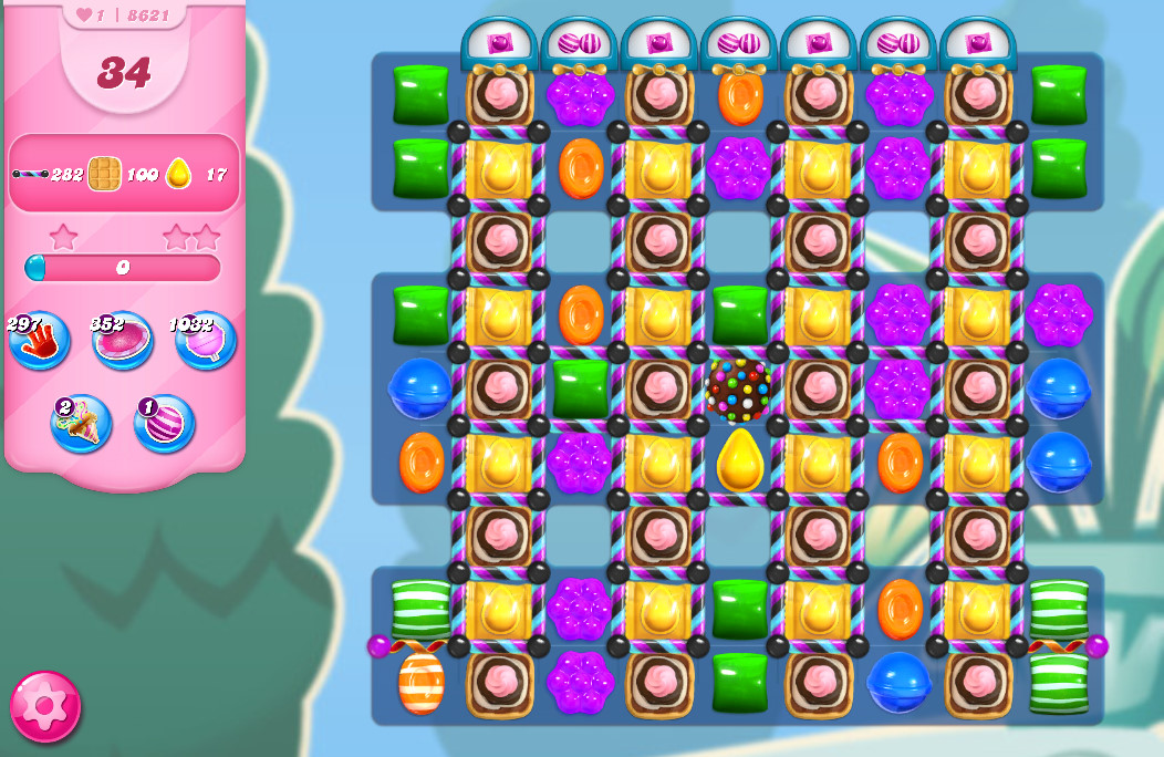 Candy Crush Saga level 8621