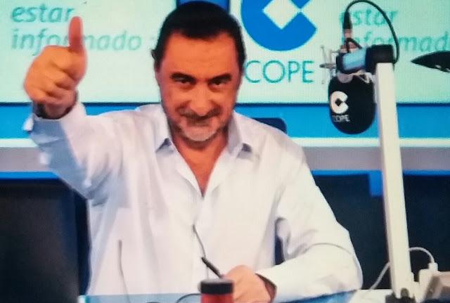 Lluvia de críticas en a Carlos Herrera en Twitter tras sus declaraciones sobre Trapero