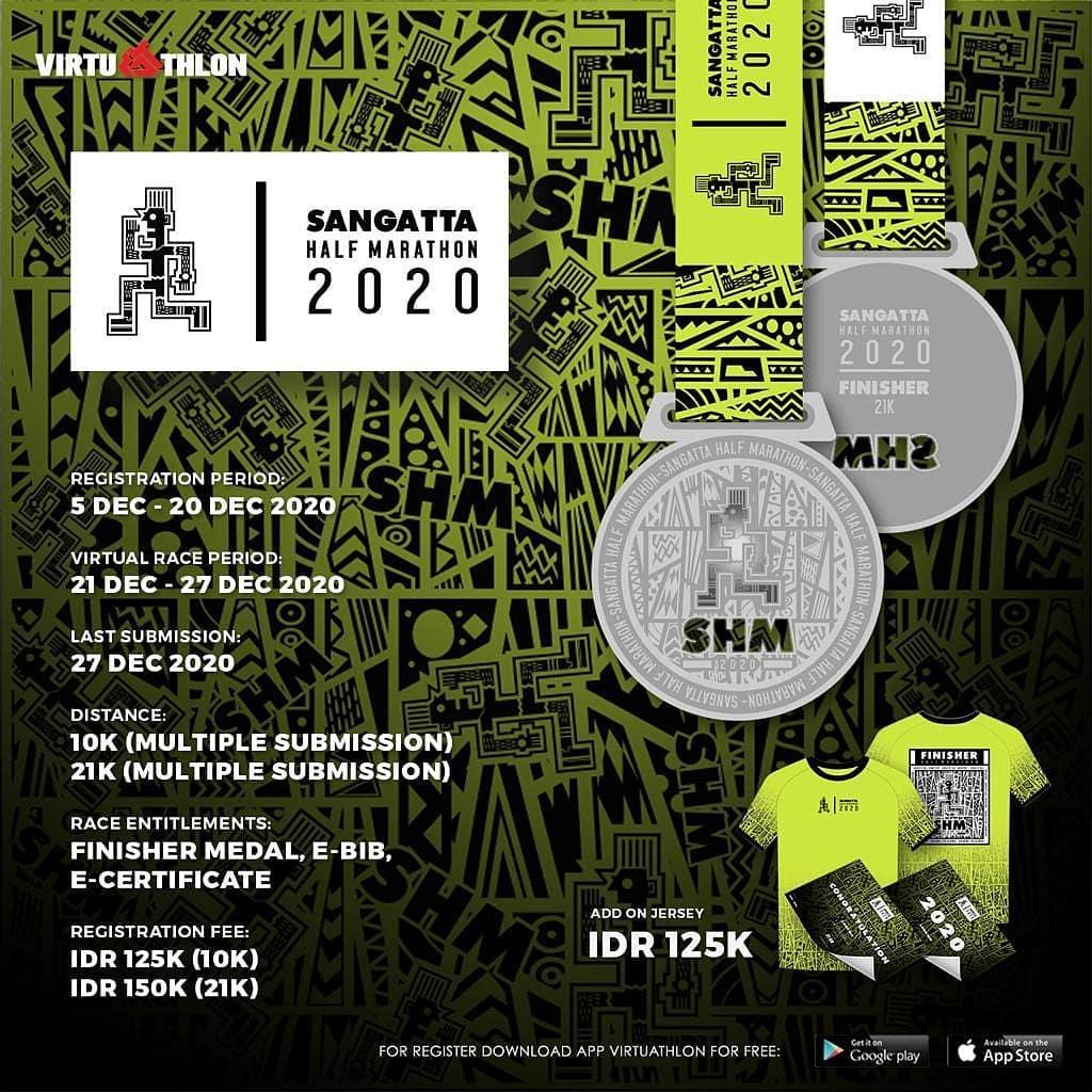 Sangatta Half Marathon - Virtual • 2020