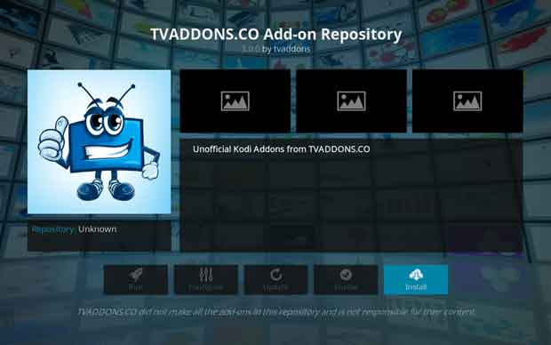 instal dan setting add-on kodi exodus 12