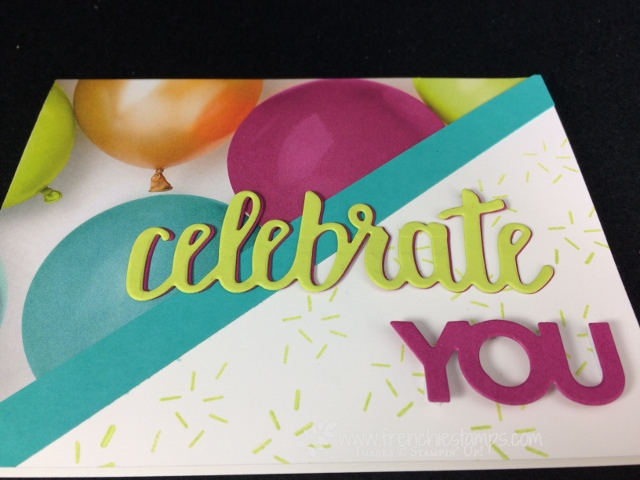 one sheet wonder 6 x 6, Celebrate You, Picture Perfect Party, Stampin'Up!