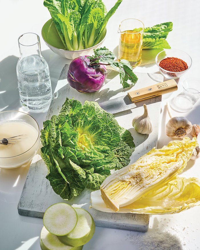 Making Kimchi, How To Encourage Yourself To Eat At Home More Often