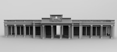 STRETCH GOAL £2500 OPENED STALINGRAD TRACTOR FACTORY ENTRANCE picture 2