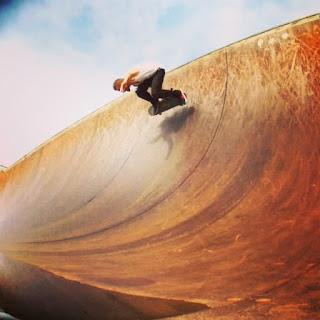Mark Jansen Skateboarding West Beach Adelaide