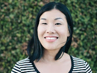 Illustrator Lili Chin pictured for an interview about her book  Doggie Language