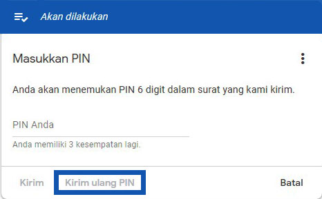Verifikasi Manual Tanpa PIN Adsense