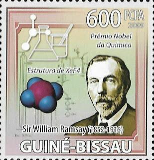 Guinea Bissau Nobel Prize Chemistry Sir William Ramsay