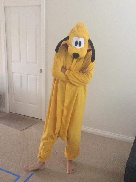 Pluto Onesie for Adults