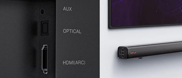 BlitzWolf® AirAux AA-SAR1 - 60W de potência ligados à tua TV!
