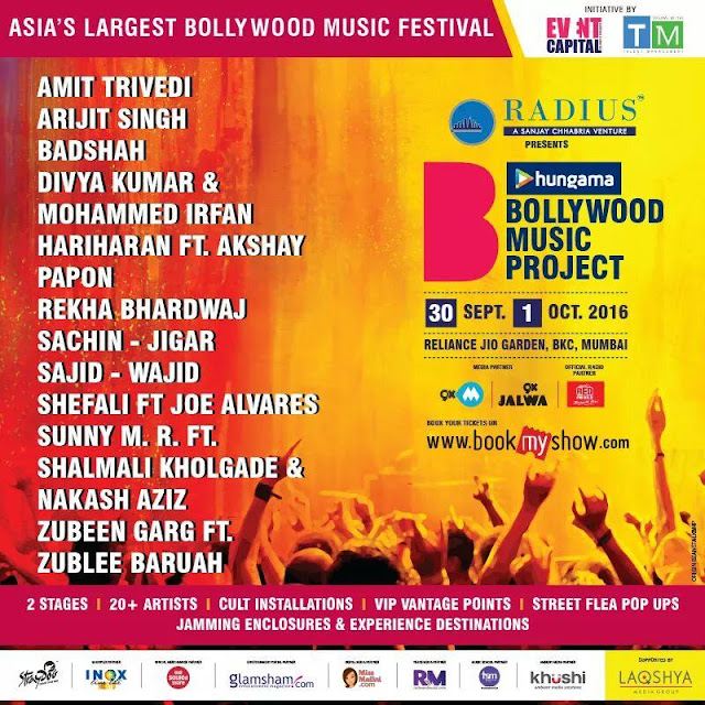 Asia's largest Bollywood Music Festival is coming your way!